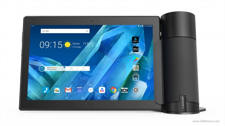 Lenovo debuts new Android tablet with Moto Tab