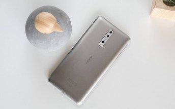Nokia 8 starts getting Android Oreo