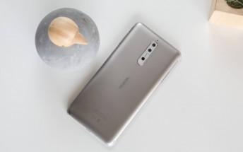 Nokia 8 starts getting Android Oreo
