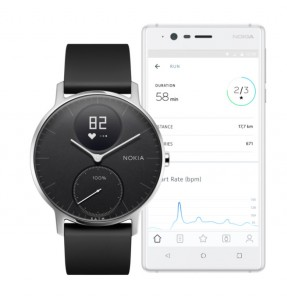 Nokia Steel HR is a classic watch and fitness tracker combo