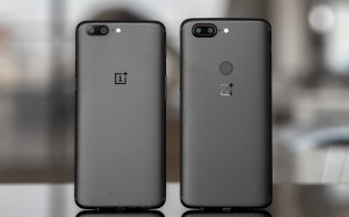 OnePlus 5T and the OnePlus 5 chilling together