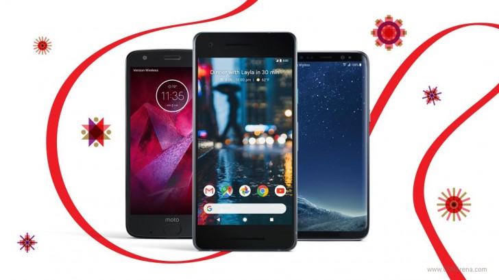Verizon offers up to 50% off Pixel 2, Galaxy S8, Moto Z2