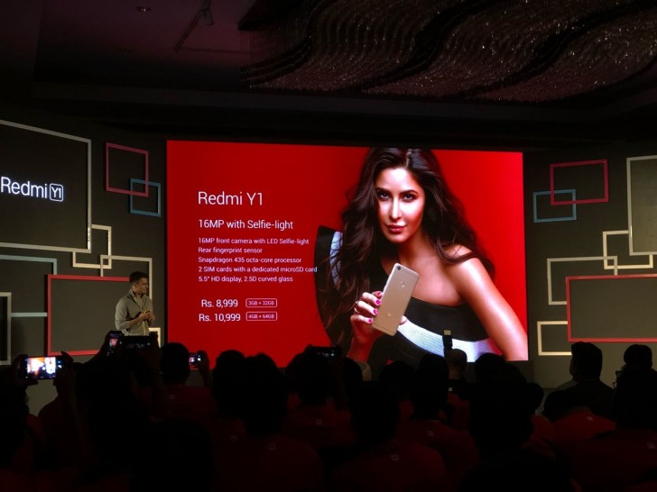Xiaomi announces the Redmi Y1 and the Redmi Y1 Lite