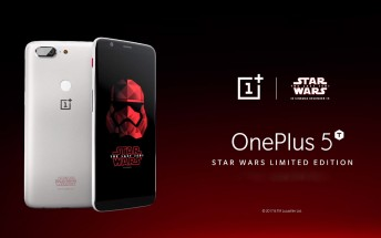 OnePlus 5T Star Wars Limited Edition to go on sale on December 15