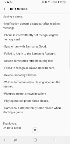 Oreo Beta 4 for Samsung Galaxy S8/S8+ now seeding - GSMArena com news
