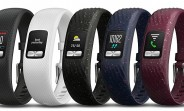 Garmin vivofit 4 activity tracker features always-on color display, over 1 year battery life