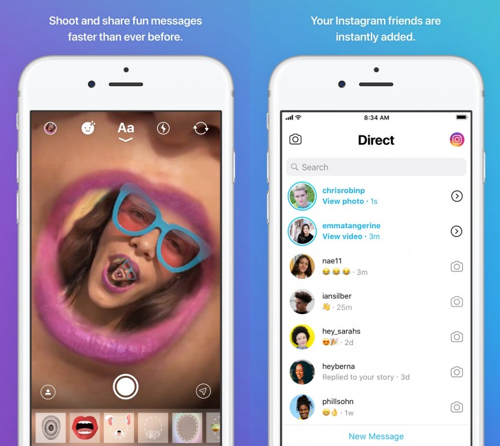 Instagram Direct is Becoming its Own App