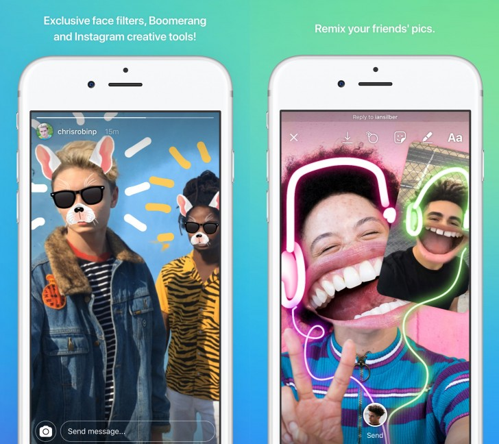 Instagram separates messaging feature into a new app called Direct