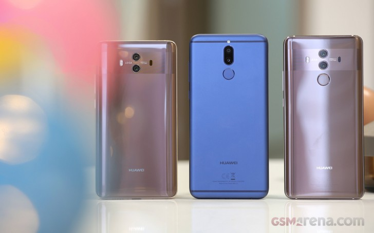 Huawei Mate 10 Lite in for review