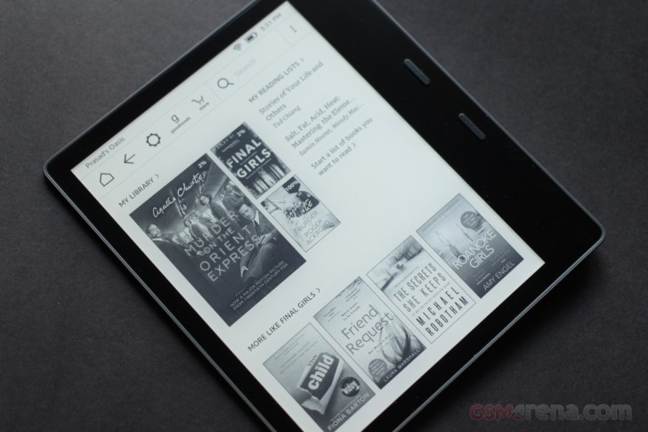 Amazon Kindle Oasis second generation review - GSMArena com news
