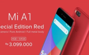 Xiaomi Mi A1 gets new Special Edition Red variant