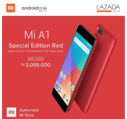 Xiaomi Mi A1 gets new Special Edition Red variant - GSMArena com news