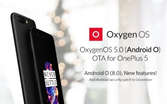 Android 8.0 Oreo update now rolling out to the OnePlus 5