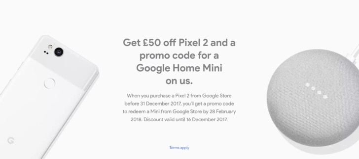 Deal: Pixel 2 and 2 XL are £50 off in the UK and come with a