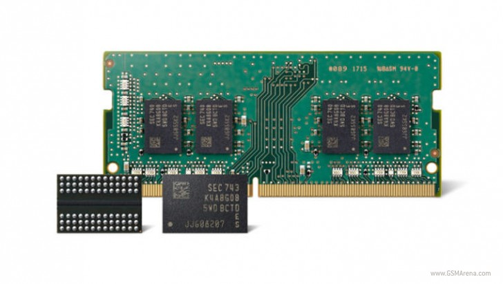 Samsung begins mass production of second generation 10 nm DDR4 memory
