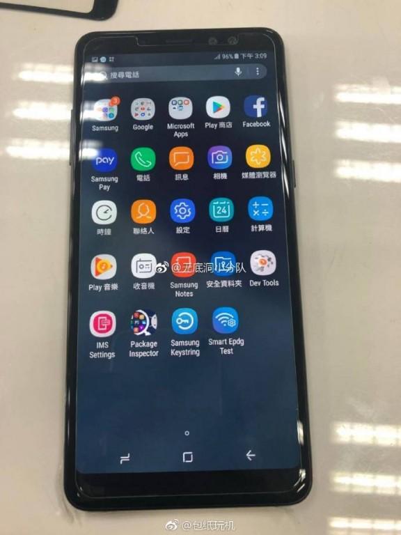 Zuwachs für die A-Reihe: erste Bilder des Samsung Galaxy A8+ geleakt