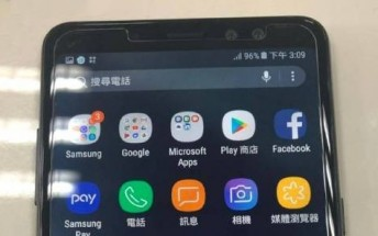Galaxy A8+ (2018) is the new A7, poses for photos