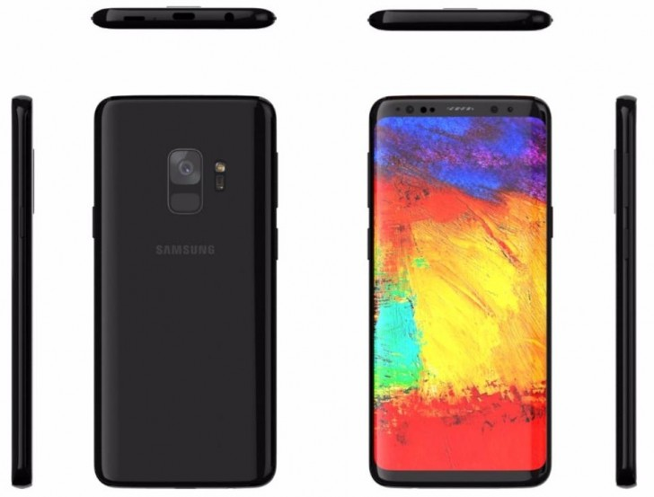 Samsung galaxy s9 leaks again in case maker s renders for Galaxy maker
