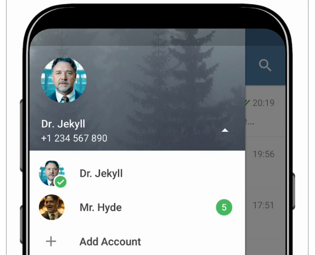 New Telegram update brings multiple accounts support on Android