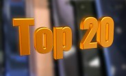 The Top 20 most popular phones of 2017