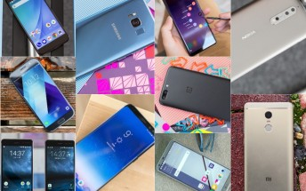 Top smartphone reviews of 2017