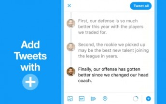 Twitter makes it easy to create tweet threads