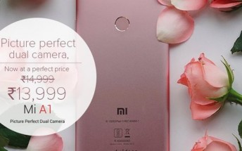 Xiaomi announces permanent price cut for Mi A1 in India