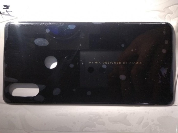 Xiaomi Mi Mix 3 back panel leaks