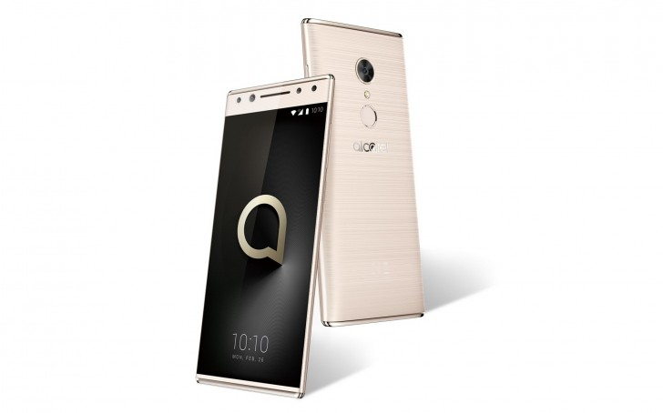 Render of the Alcatel 5's final design appears for your viewing pleasure