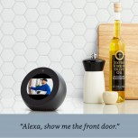 Alexa Echo Spot can be a security camera monitor