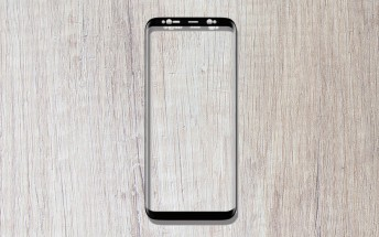Screen protector show Galaxy S9+ bezels will be only slightly thinner than S8+'s