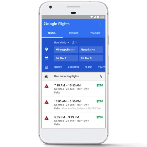 Worried about whether your flight schedule will be delayed? Google can now help solve it.