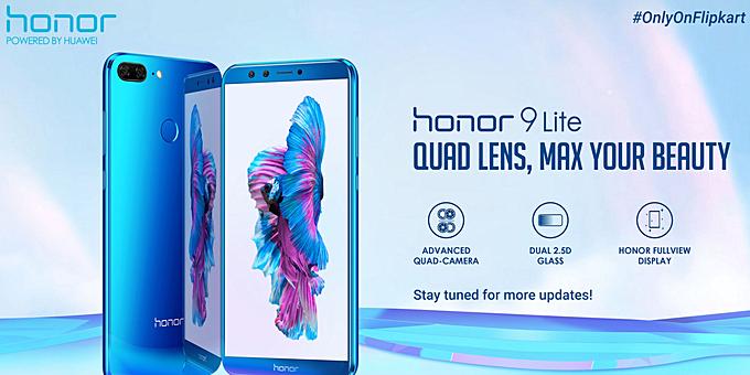 Huawei Honor 9 Lite will be Flipkart exclusive in India - GSMArena