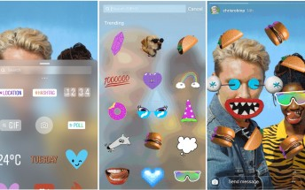 Instagram now supports GIF stickers in Stories