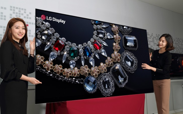 LG Preps an 88-Inch, 8K OLED TV for CES 2018