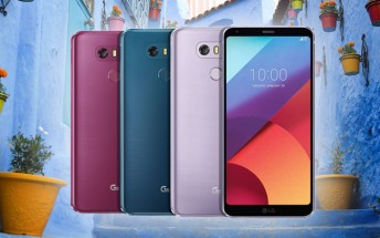 LG G6 and LG Q6 to arrive in Moroccan Blue and Lavender Violet