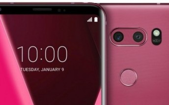 LG V30 gets new Raspberry Rose color