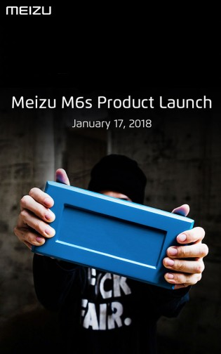 Official Meizu M6S poster