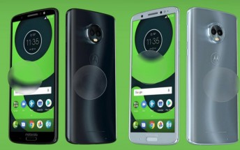 Moto X5, G6, G6 Plus, and G6 Play promo images leak alongside spec details
