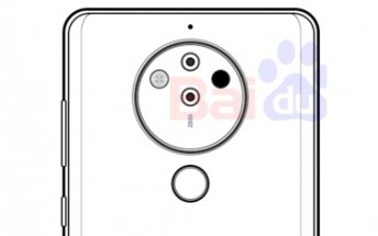 Another Nokia 10 sketch hints at penta-camera setup, of sorts