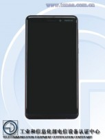Nokia 6 (2018) front panel on TENAA