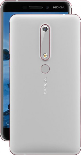 Second generation Nokia 6 in Black and Silver