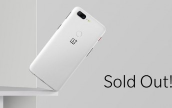 Gone in 2 hours: OnePlus 5T Sandstone White is already out of stock