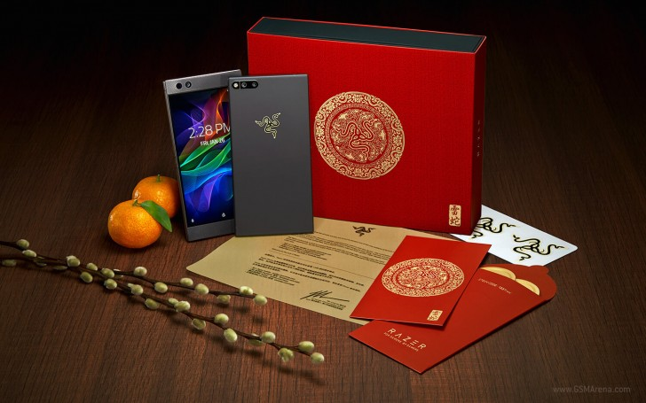 Gold Edition Razer Phone offered for a limited time