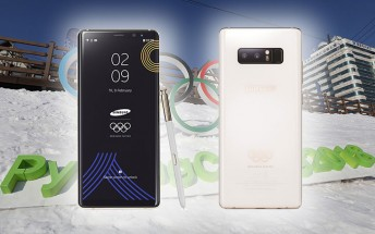 Samsung unveils Galaxy Note8 PyeongChang 2018 Limited Edition