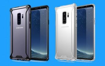 Samsung Galaxy S9+ leaks in case renders