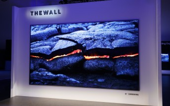 Samsung unveils The Wall: a whopping 146