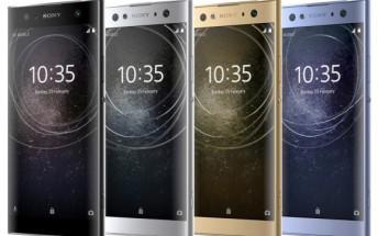 Sony Xperia XA2, XA2 Ultra, and L2 press renders leak