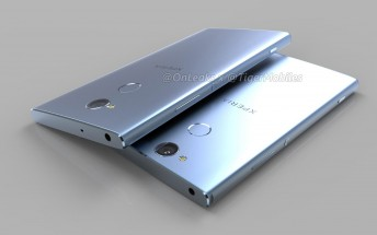 Sony Xperia XA2 Ultra and Xperia L2 renders surface