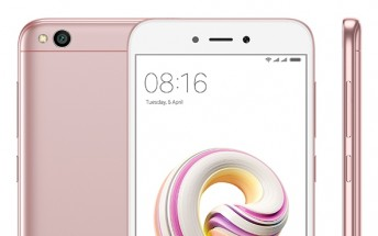 Rose Gold Xiaomi Redmi 5A now available in India